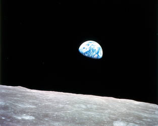 Reflecting on Earthrise 50 years on. by Earth-Hart