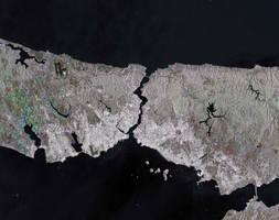 The Bosphorus Strait, Turkey by Earth-Hart