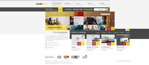 Corporate website design studio v1 by kqubekq