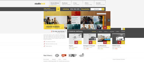 Corporate website design studio v1 by kqubekq by kqubekq
