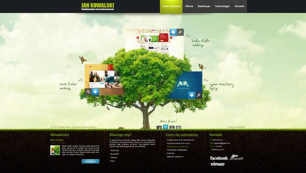 Corporate website studio design v2 by kqubekq