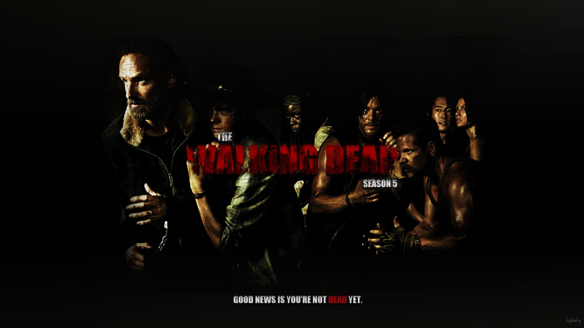 The Walking Dead Season 5 Wallpaper By Kqubekq On Deviantart