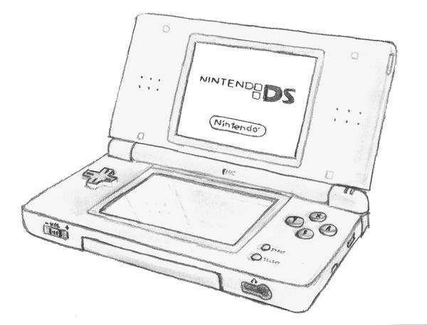 nintendo ds coloring pages - photo#4