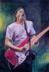 Dave Gilmour by Frogstopper