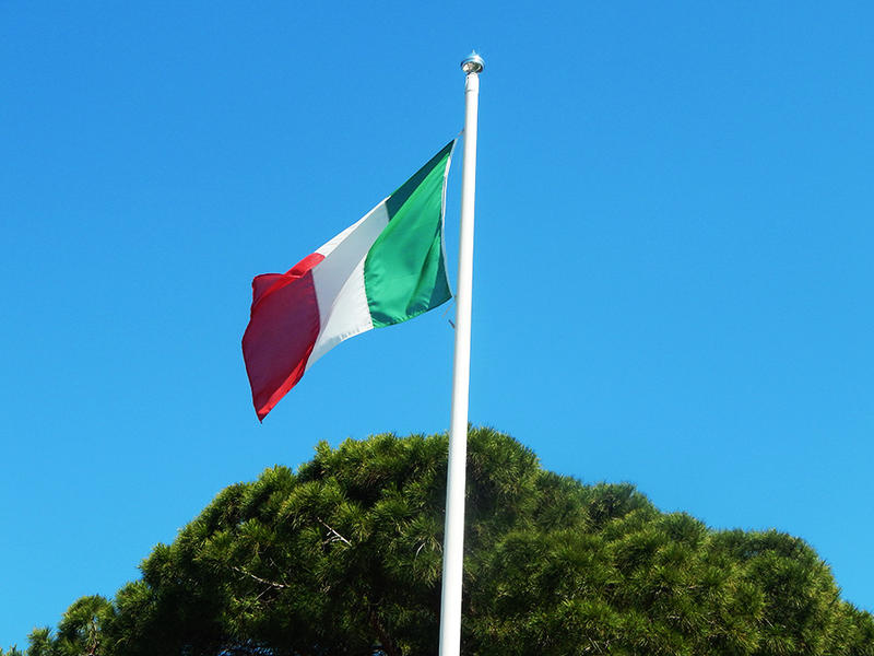 The Italian Flag by ChaseStarlit
