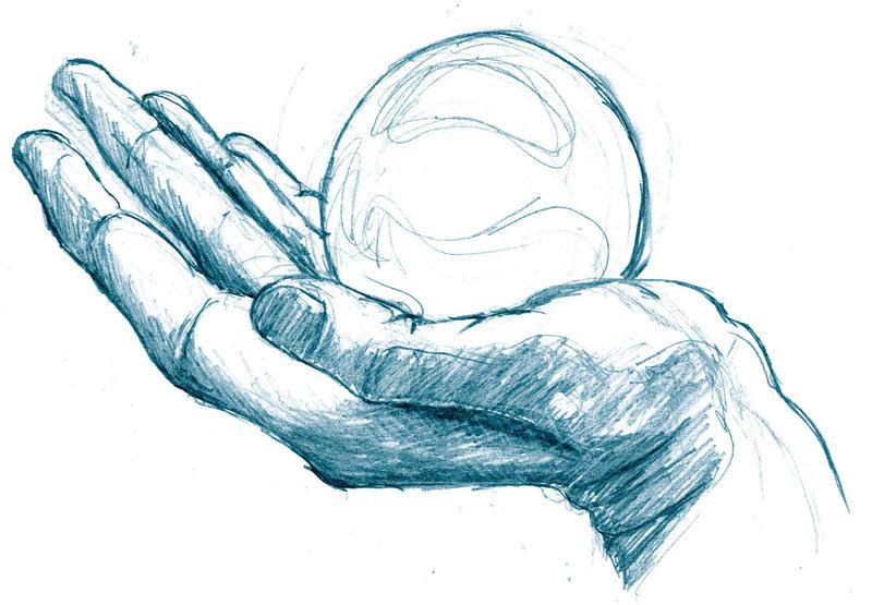 AiA:  Hand1 by JNetRocks