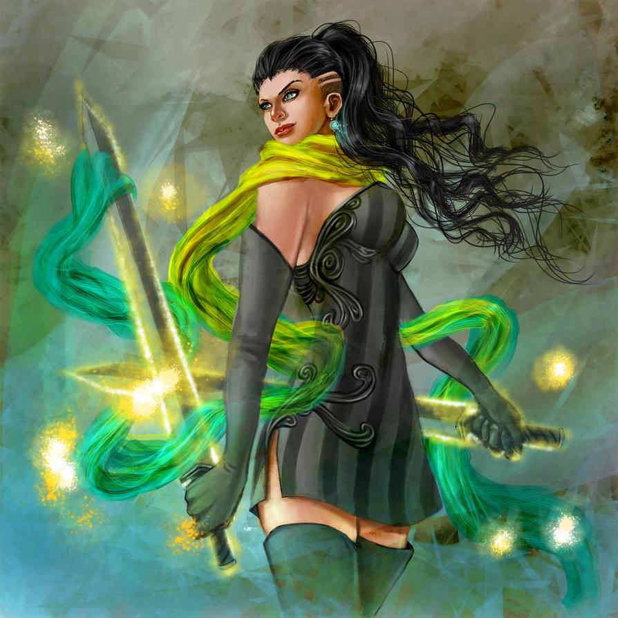 Bladedancer by JNetRocks