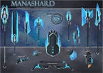 Manashard Weapon Set