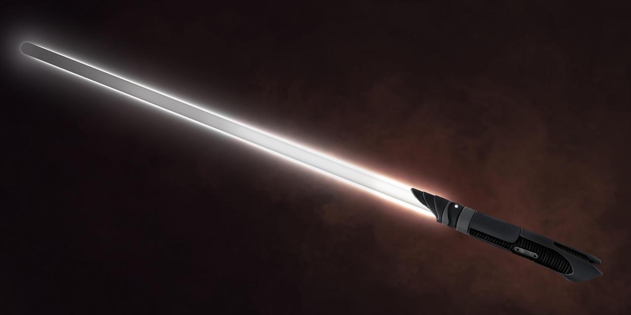 COM: Abellius Lightsaber by JNetRocks