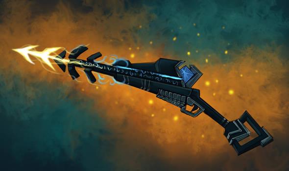COM: Glyphic Speargun