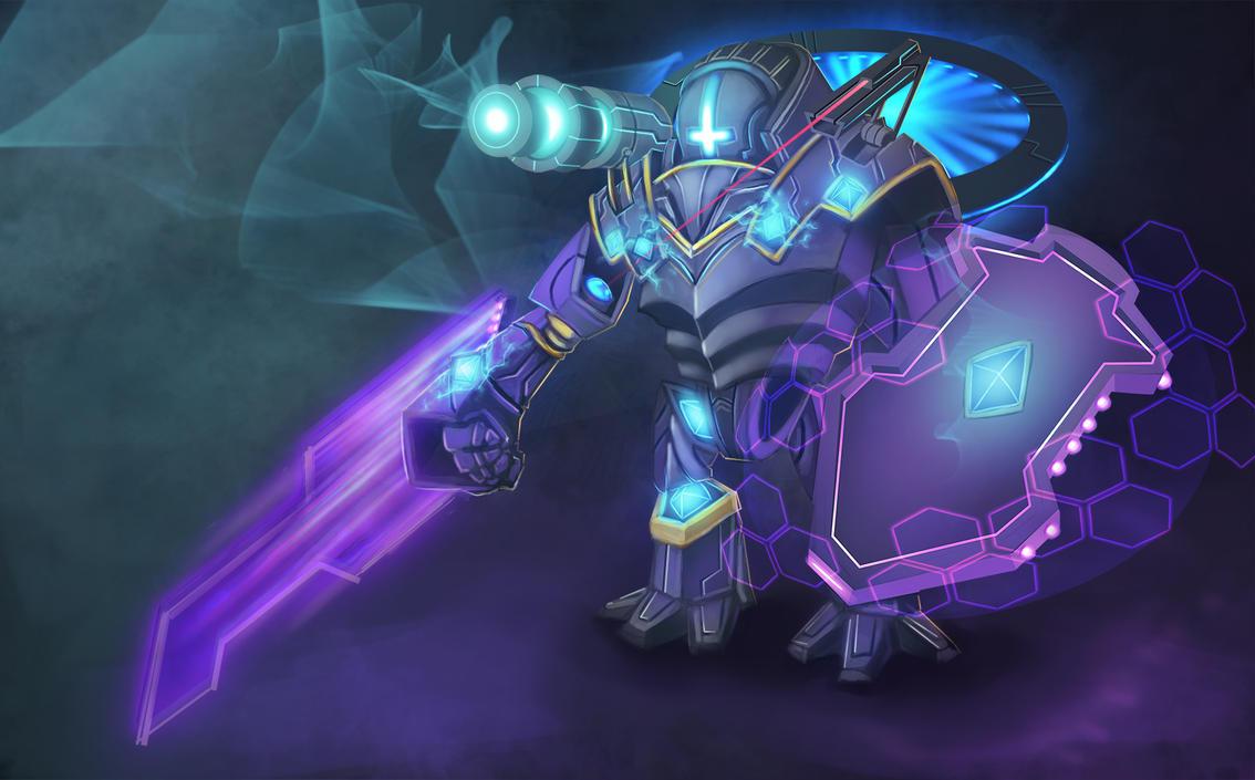 COM: Weaponized Golem by JNetRocks