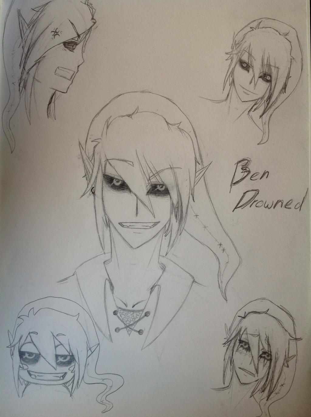 Creepypasta - Ben drowned by Mino-cake on DeviantArt