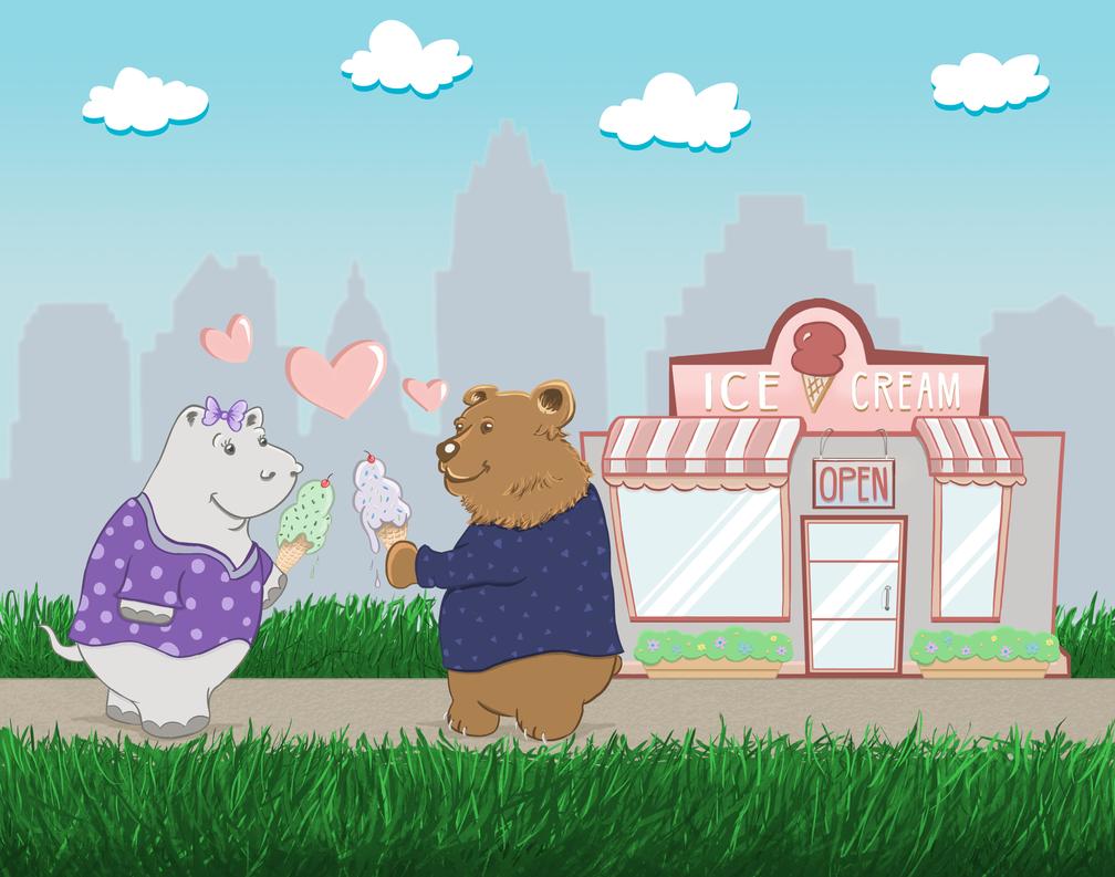 Cute Cartoon Commission! by ReloadUI