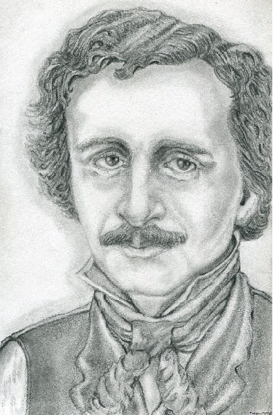 Edgar A. Poe by ShadeOPale