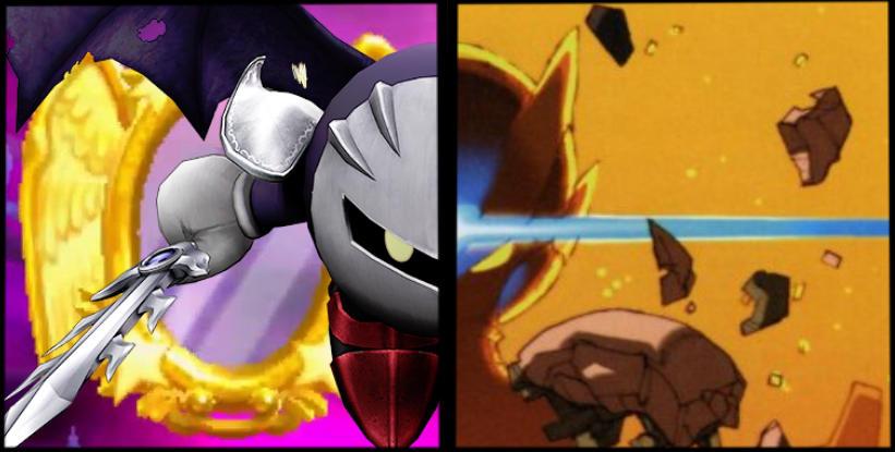 DBX: Dark Meta Knight vs. Omega Zero by Overlord-Murasama ...