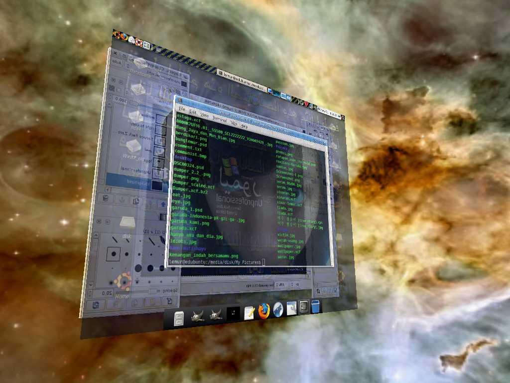 Flat Dekstop Linux by remuru