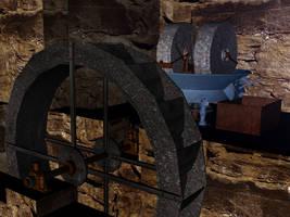 Old hydraulic mill