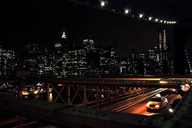 Yellow cab in NY