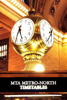 Golden Clock in NY