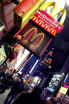 The McDonalds of Times Square