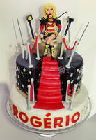 Roger's Britney cake by ClaireCastle