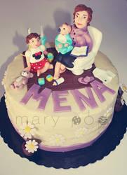 Filomena's cake by ClaireCastle