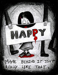 Graphic Diary_Happy...or not by ClaireCastle