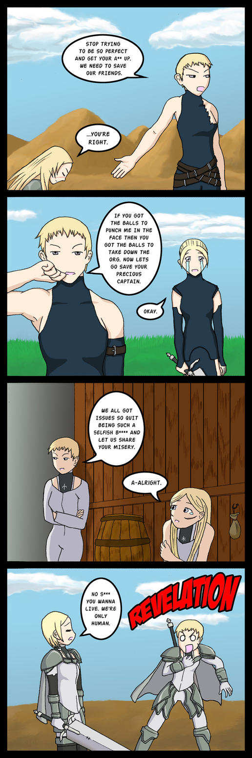 Claymore - Therapy by AiZhaoDao