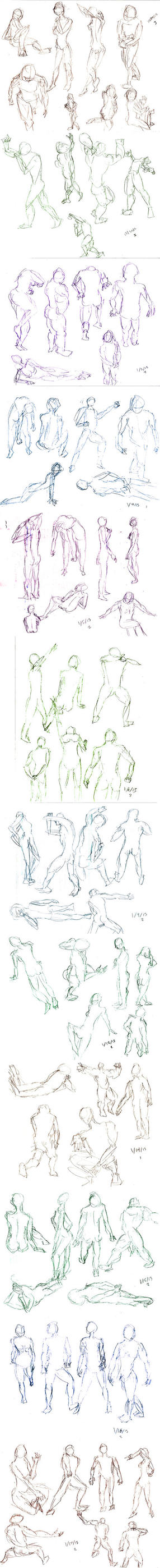 Dumpy Dump - Gesture Drawing 1 by AiZhaoDao