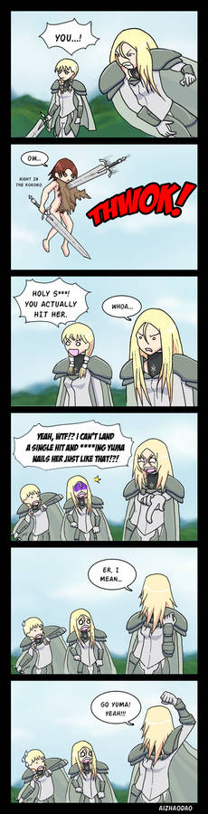 Claymore Ch 146 First Attack Get!