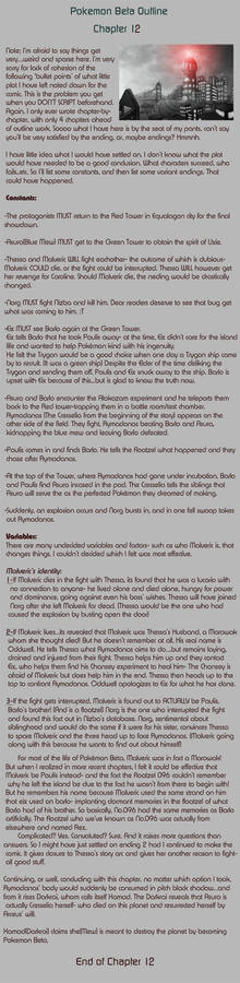 Pokemon Beta Ch.12 Summary