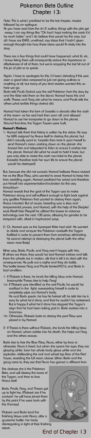 Pokemon Beta Ch.13 Summary