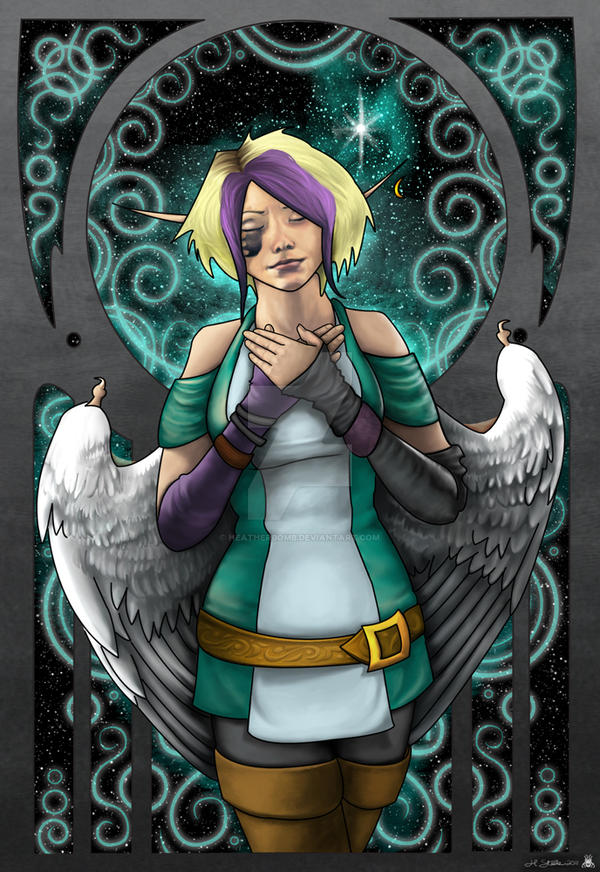 Damia: Kindled Inner Light by HeatherBomb