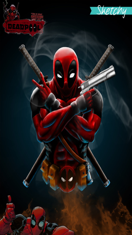 Wallpaper Deadpool By Imrsketchy On Deviantart