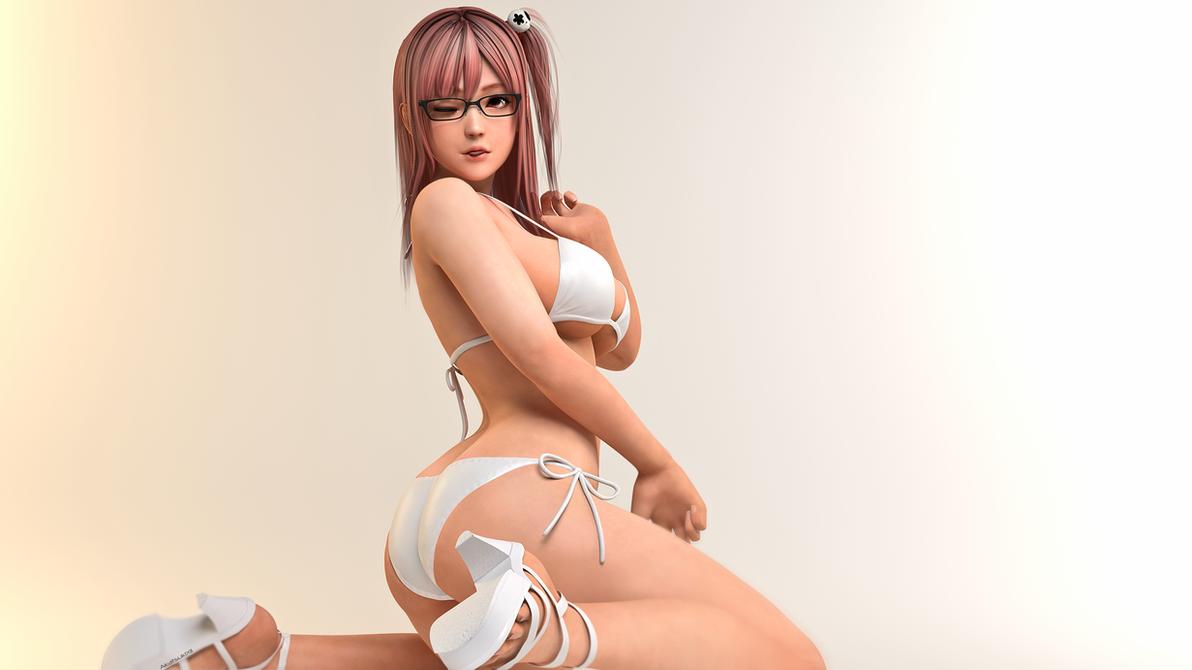Honoka Nude Skin for GTA San Andreas  GTAallcom