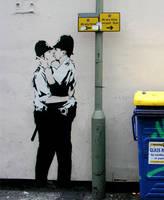 Banksy's Street Art... by DiscoBalls