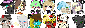 | YCH Halloween Icons Finished! | by snickIett