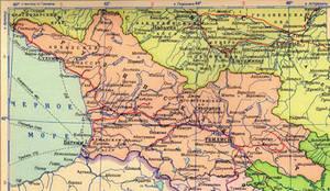Georgia during the Soviet period 1944 - 1955