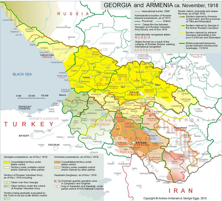 Georgia and Armenia 1918 by VahVah on DeviantArt