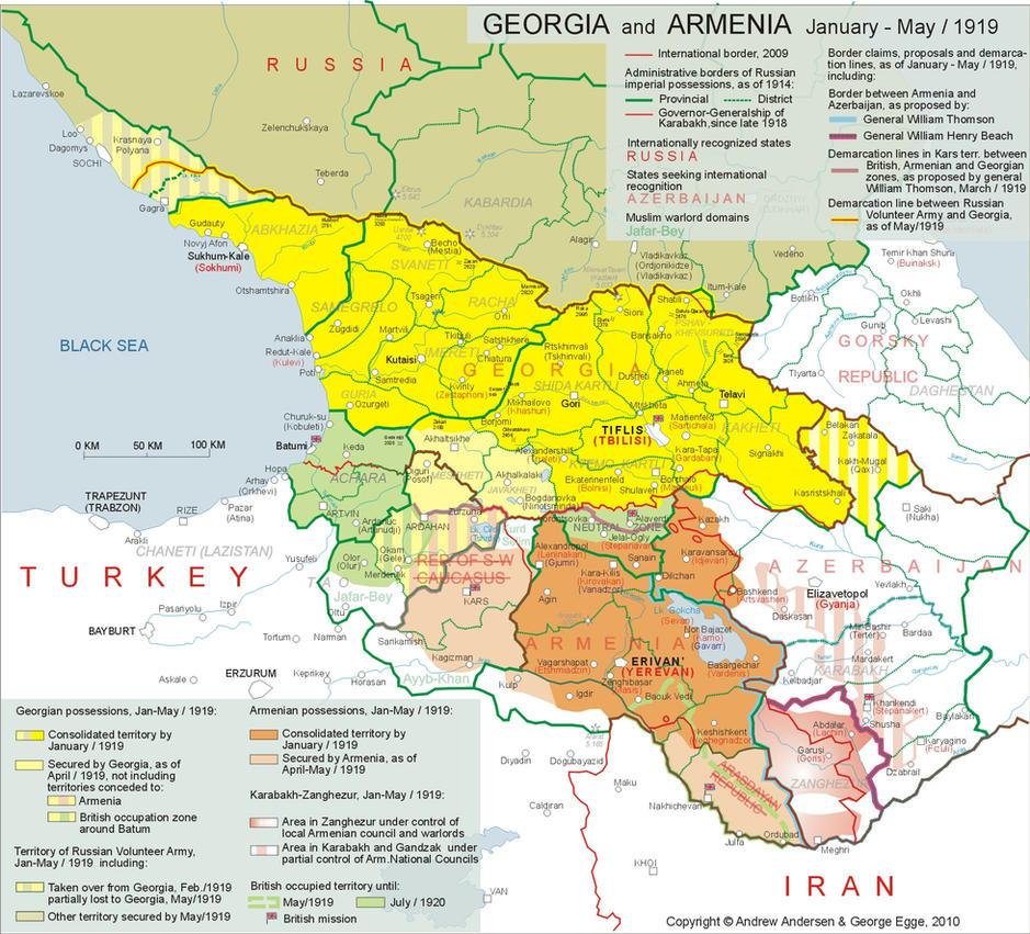 Georgia and Armenia 1919 by VahVah on DeviantArt