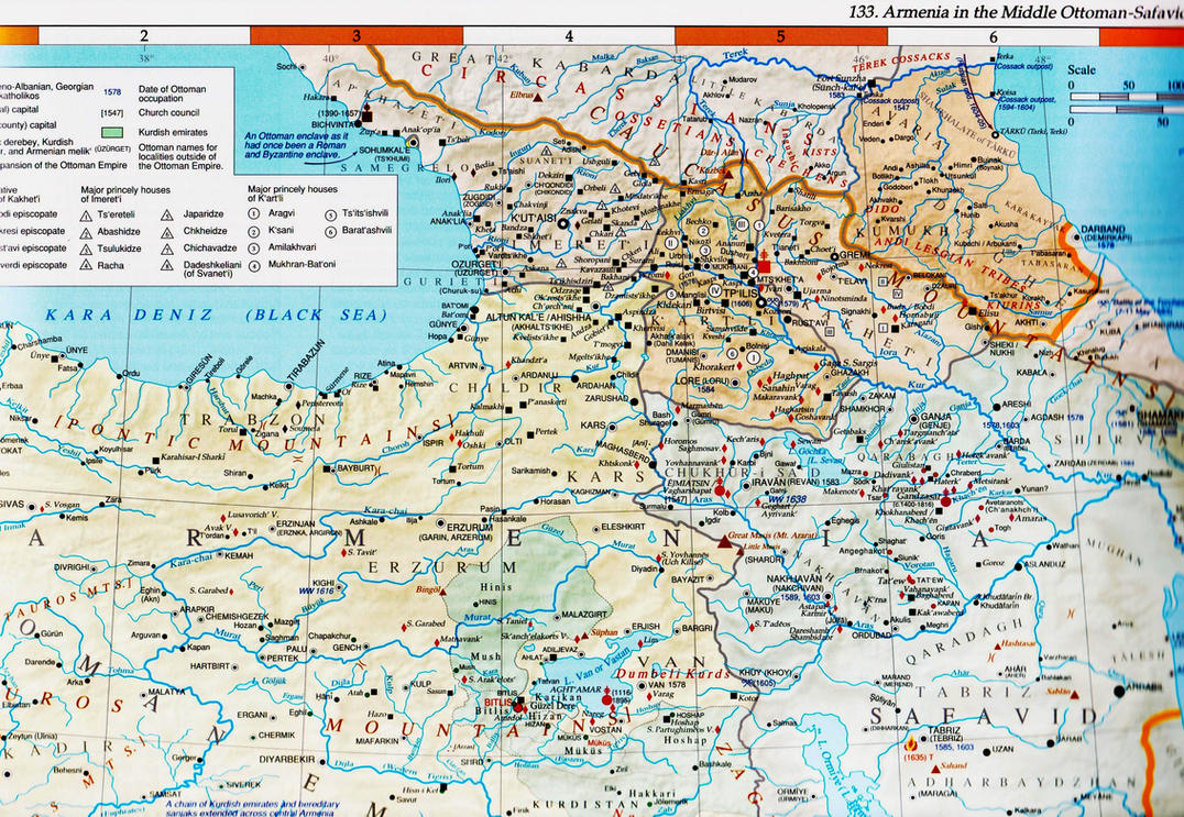 the caucasus in the middle ottoman safavid period by vah vah on