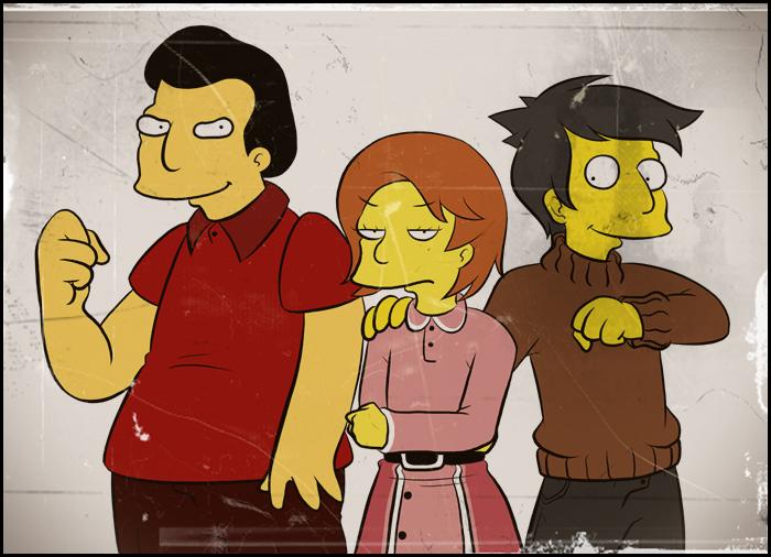 Kid Fat tony, Edna, Seymour by Matsuri1128