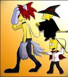 Sideshow Bob, Bart, Lisa