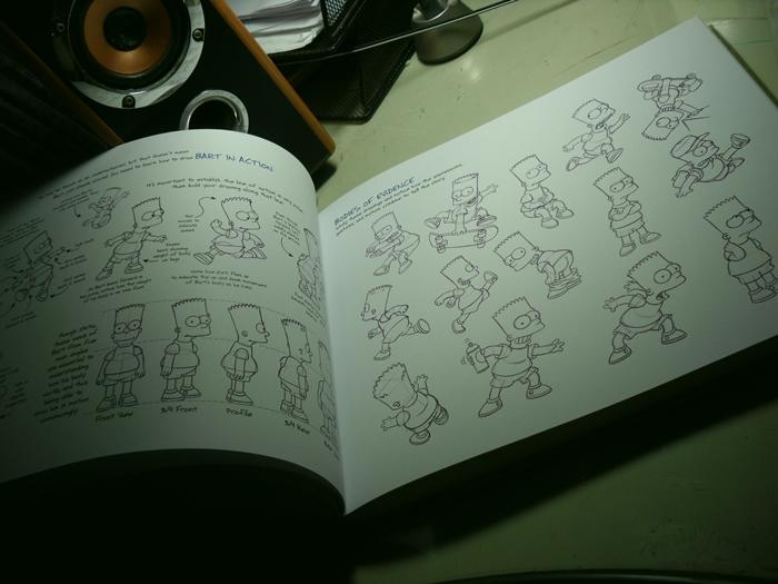 Simpsons Handbook, Bart by Matsuri1128