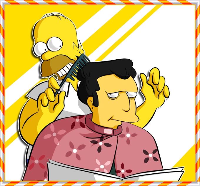 To.Frankierox1996 - Fat Tony, Homer by Matsuri1128