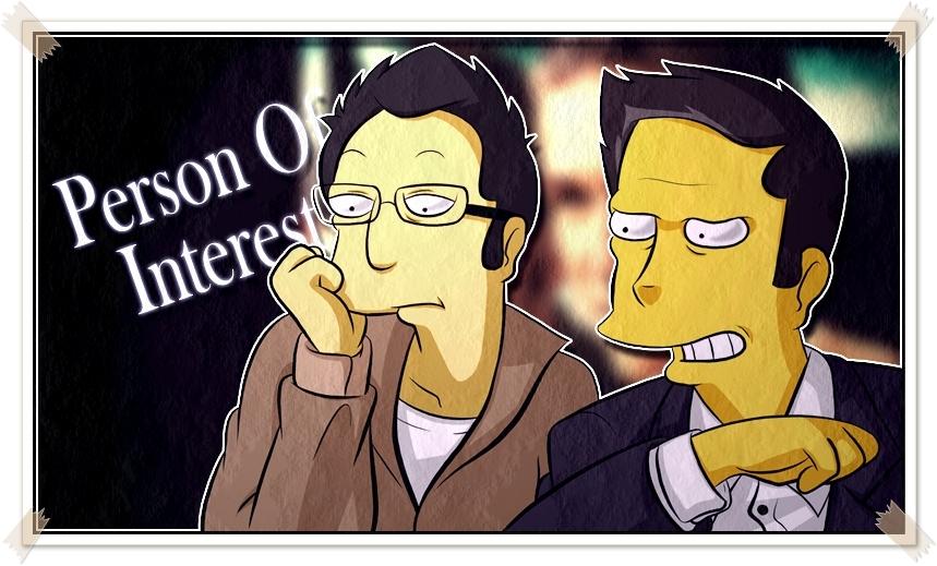 Person Of Interest (Simpsonize) by Matsuri1128