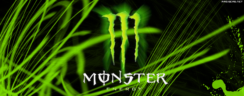 Monster Energy Drink Banner