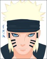 Naruto  ( Ashura ) by KiiMoZ