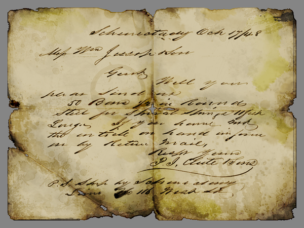 Old Letter By Tatasz On Deviantart