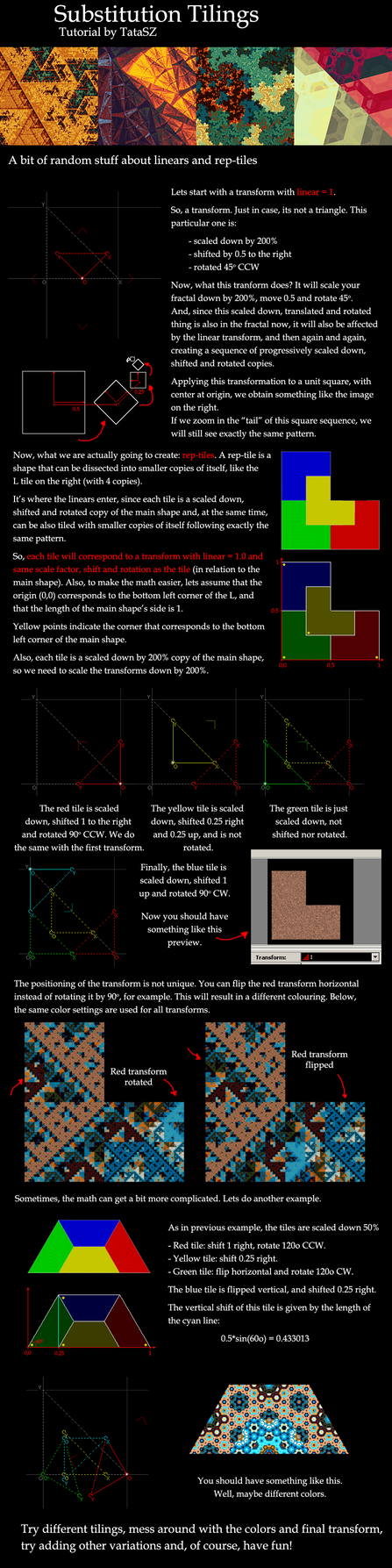 Linear Tile Tutorial by tatasz